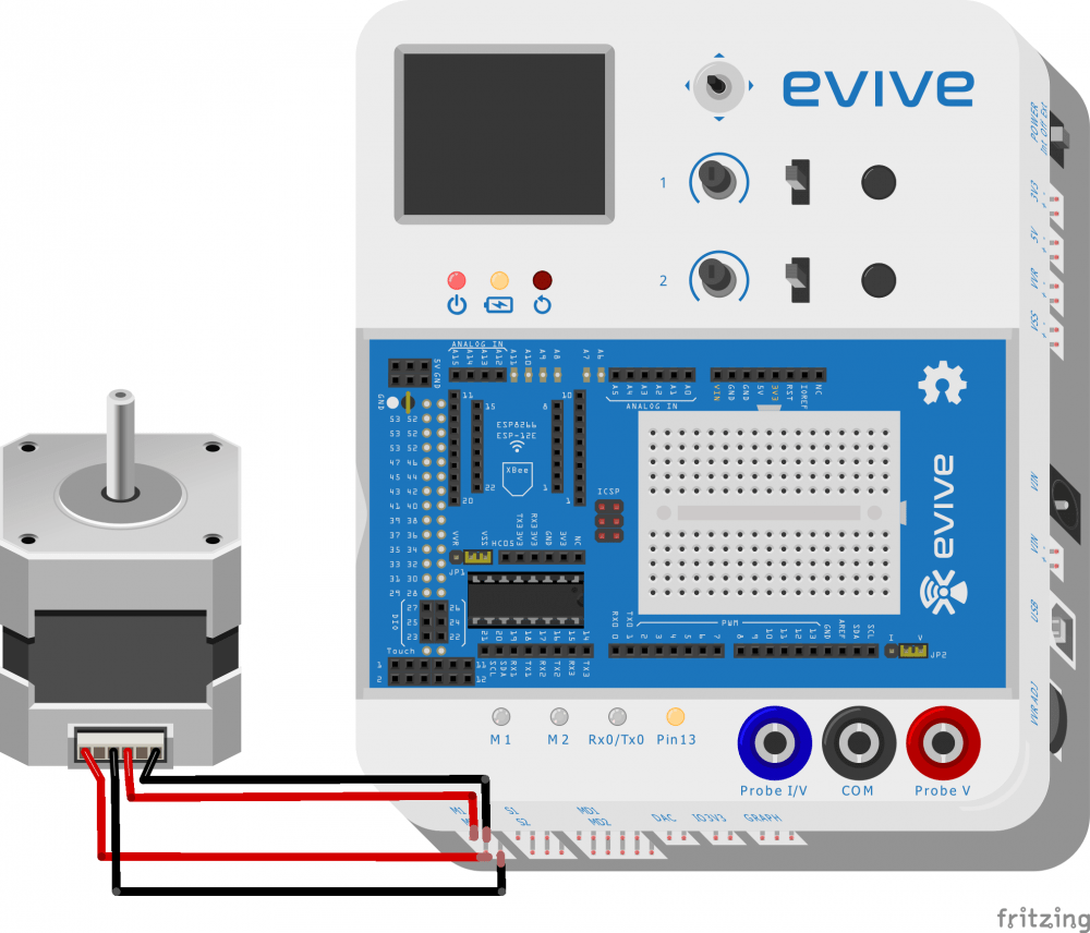 evive Stepper Motor Circuit DIagram
