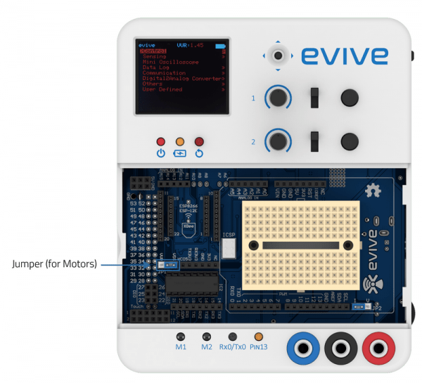 evive Jumper for power control of motors