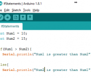 Arduino IDE: Conditional(if-else-if) Statements
