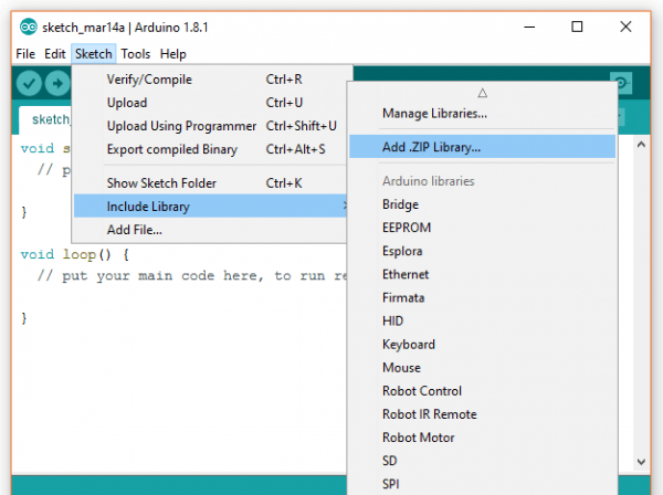 How to Install a Library in Arduino IDE - STEMpedia