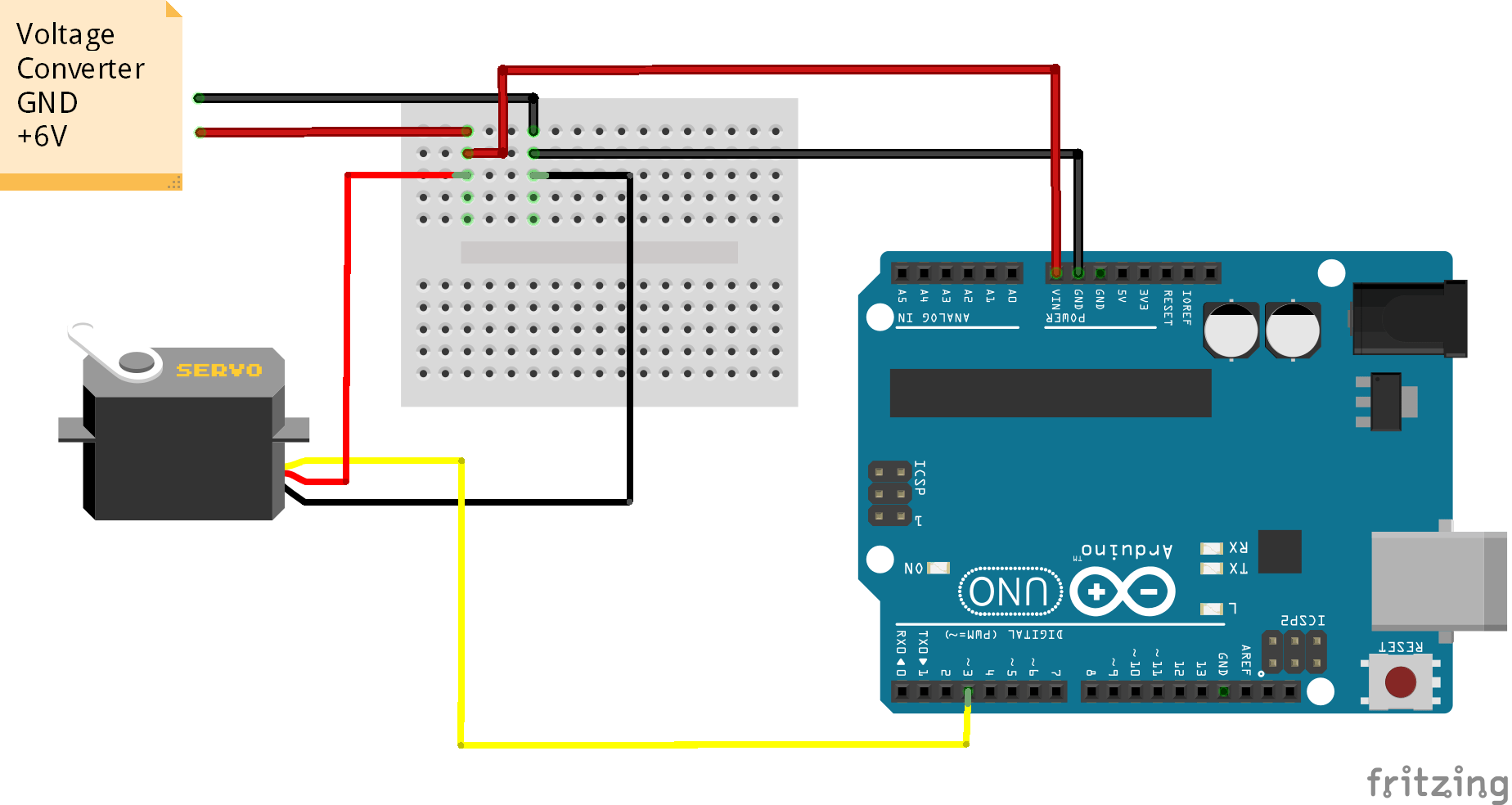 Servo Sweep using Arduino IDE - STEMpedia