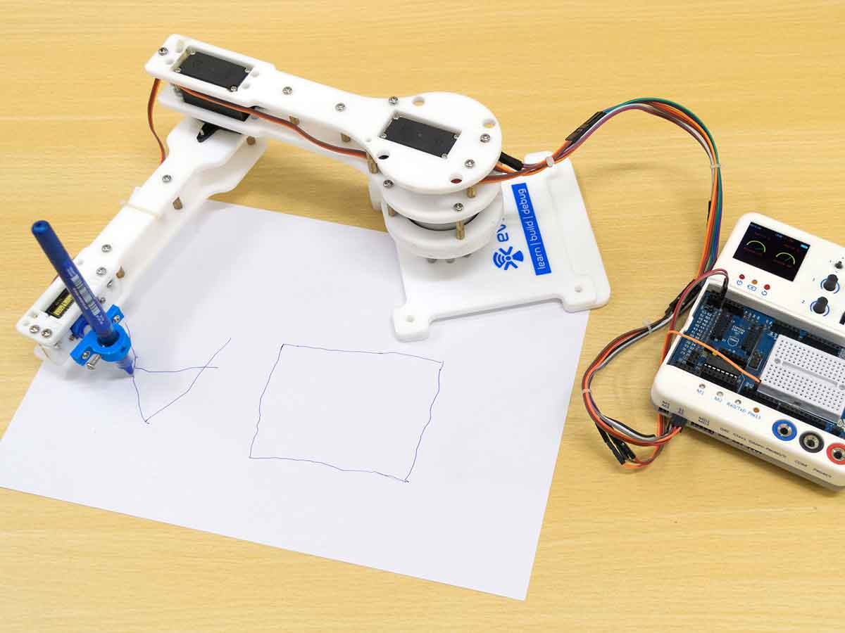Arduino Controlled Pick & Place Robotic Arm Kits for Teens for Sale
