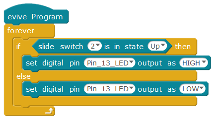 Slide switch arduino mode