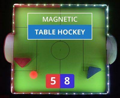 DIY Magnetic Hockey Cover Image