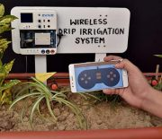 Wirelessly Controlled Drip Irrigation System