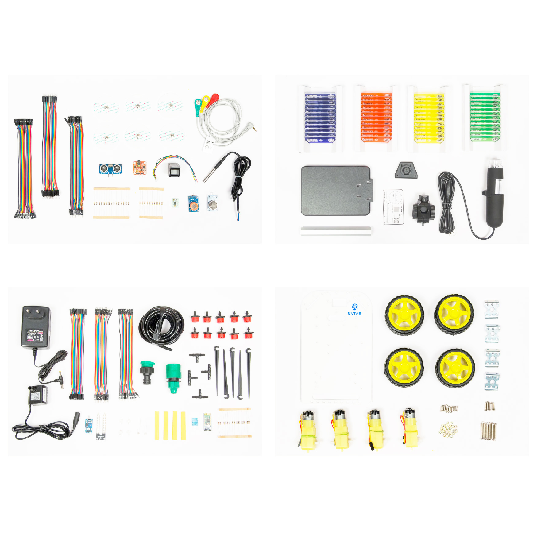 Atal Tinkering Labs (ATL) P4 Component/Equipment List for