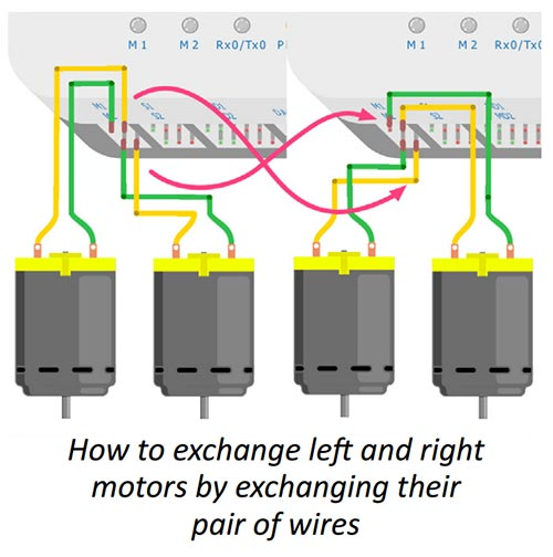 Exchanging Motor Wiring