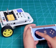 Smartphone Controlled Mobile Robot