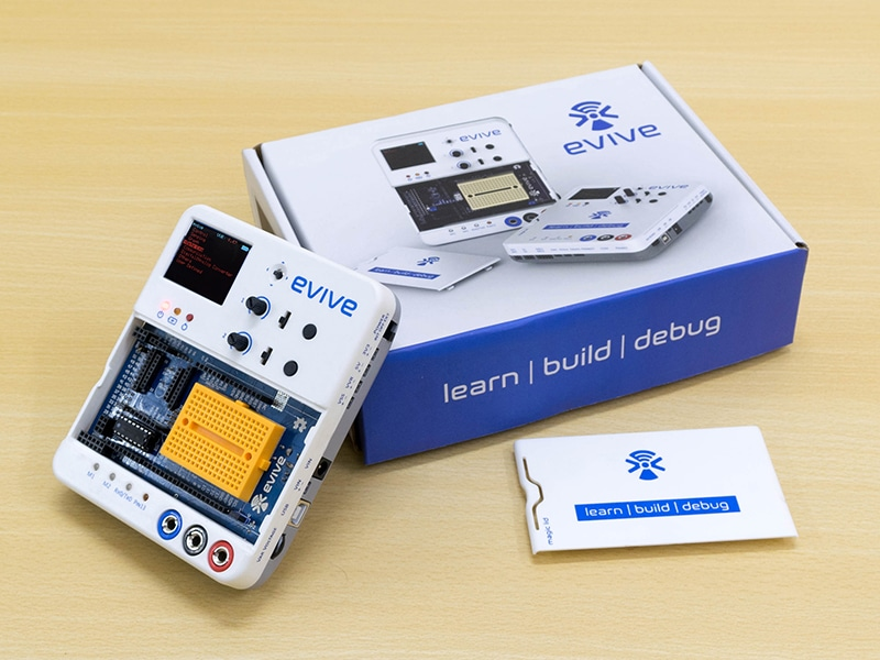 evive - Best electronic prototyping board for DIY projects & IoT