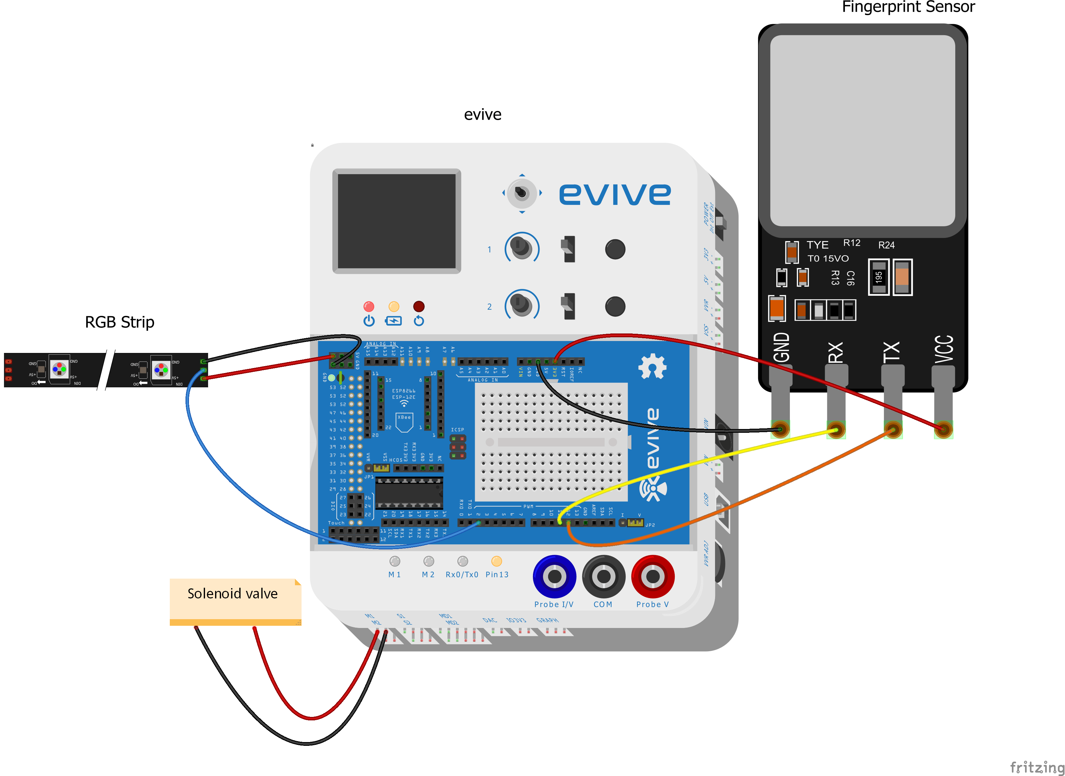 How To Make A Diy Fingerprint Locker Based On Aarduino At Home Electronic Gadgets Circuit Diagram