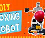 How to Make Arduino Based Balancing Boxing Robot Project