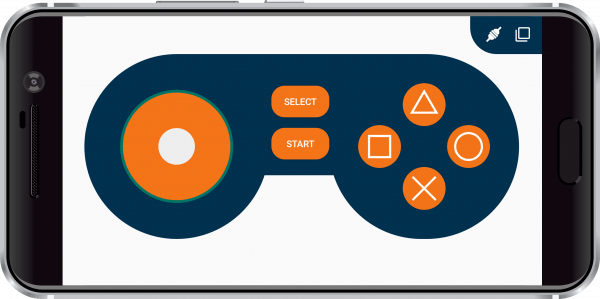 Game Pad_Joystick_Connected