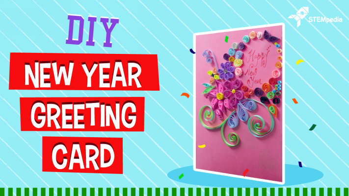 how to make personalized new year greeting cards diy crafts