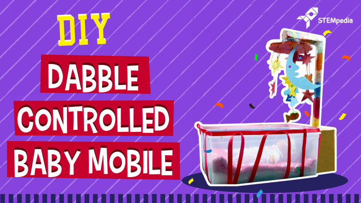 Dabble-controlled-baby-mobile