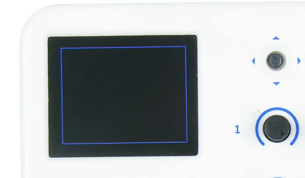 evive TFT Display Rectangle Outline