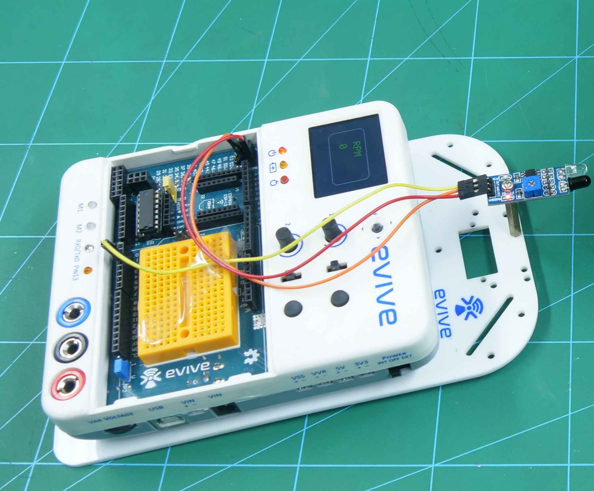 How to make Digital Tachometer Based on Arduino - DIY Project