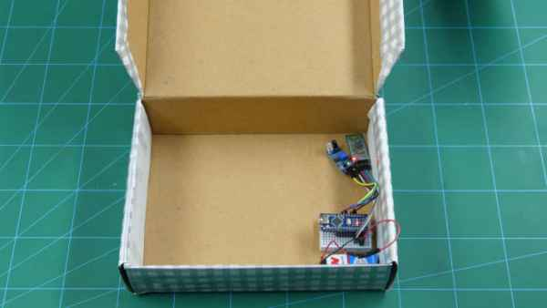 Placing the circuit in the box