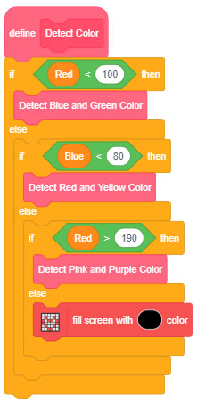 detect color