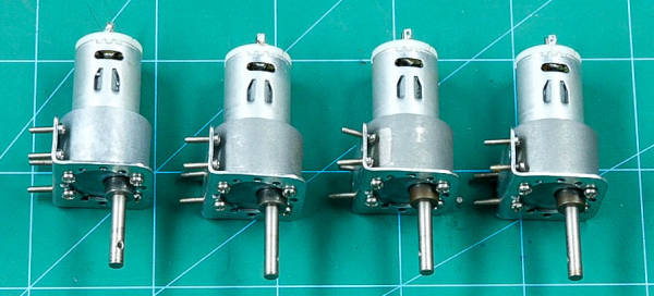 Attach Motor to Motor Mounts