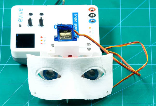 Calibrate the eye servos