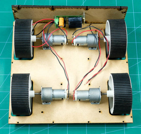 Connect Motors to the Motor Driver