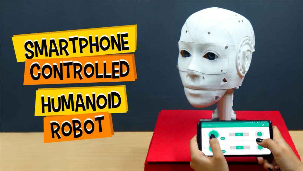 Smartphone-Controlled-Humanoid-Robot