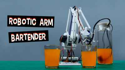 Robotic-Arm-Bartender