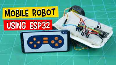 Mobile-Robot-using-ESP32