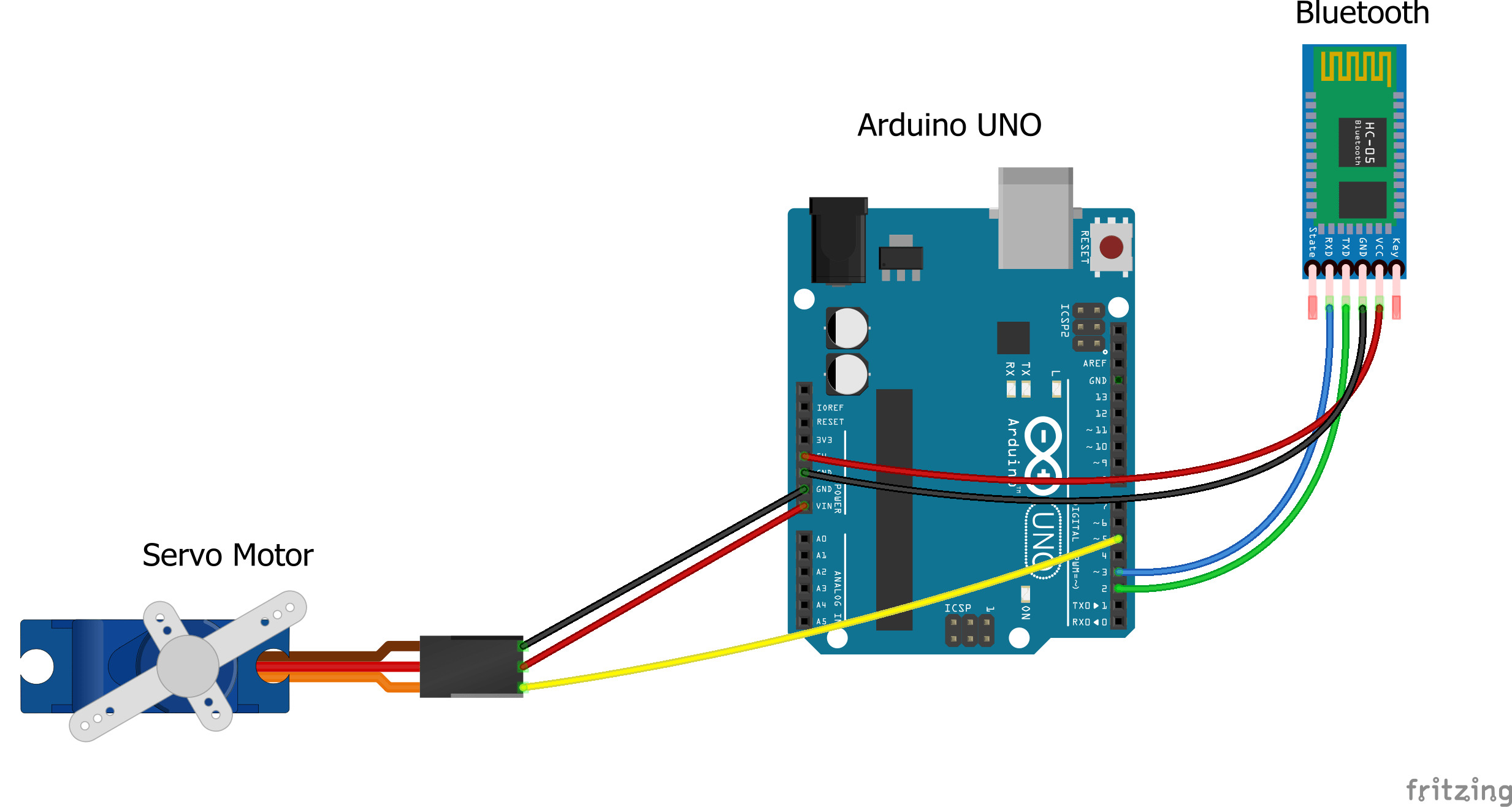 Interface Dabble (Project Making App) with Arduino using