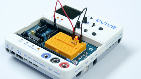 LED Circuit with Switch and Potentiometer