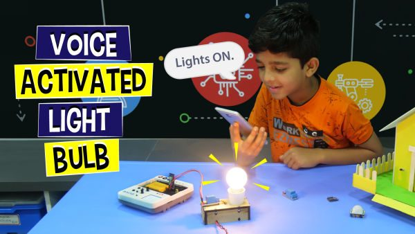 Voice Activated Light Bulb project