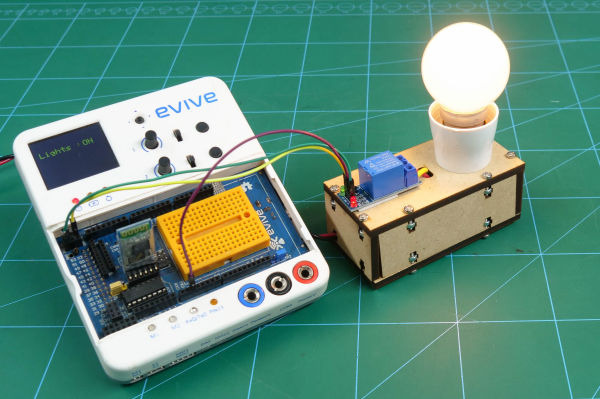 Voice Controlled Light Bulb