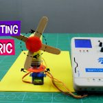 DIY Oscillating Electric Table Fan