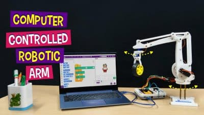 Keyboard-Controlled-Robotic-Arm