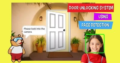 door unlock using face detection