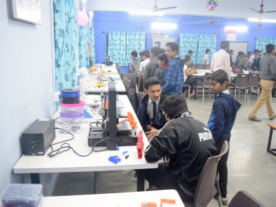 Atal Tinkering Lab Setup & ATL Inauguration in New Education High School Petlad Anand by STEMpedia-33