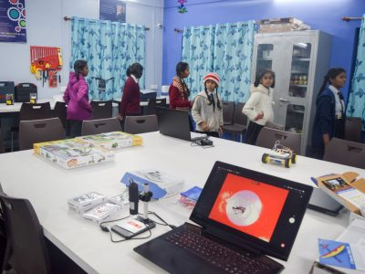 Atal Tinkering Lab Setup & ATL Inauguration in New Education High School Petlad Anand by STEMpedia-35