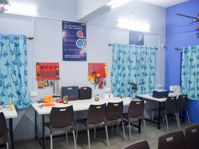 Atal Tinkering Lab Setup & ATL Inauguration in New Education High School Petlad Anand by STEMpedia-8