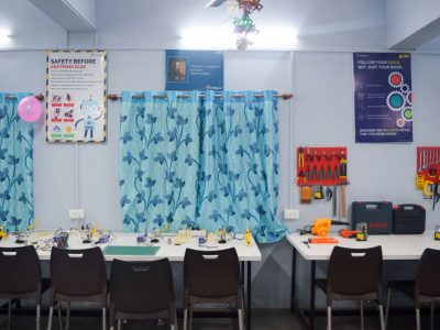 Atal Tinkering Lab Setup & ATL Inauguration in New Education High School Petlad Anand by STEMpedia-9
