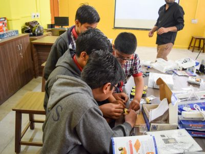 Atal Tinkering Lab Setup and Teacher Training by STEMpedia-21