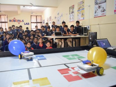 Atal Tinkering Lab Workshop on Robot Making Bharad by STEMpedia-17