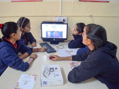 Atal Tinkering Lab Workshop on Robot Making Bharad by STEMpedia-3