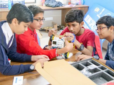 Best Higher Secondary School Ahmedabad Atal Tinkering Workshop Competition and Exhibition-26