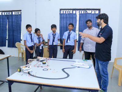 Robotics Competition by STEMpedia and STEMians-20